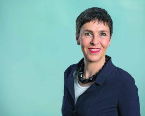 Porträtfoto Barbara Gysi Nationalrätin SP St. Gallen - für ein offene, soziale und ökologische Schweiz